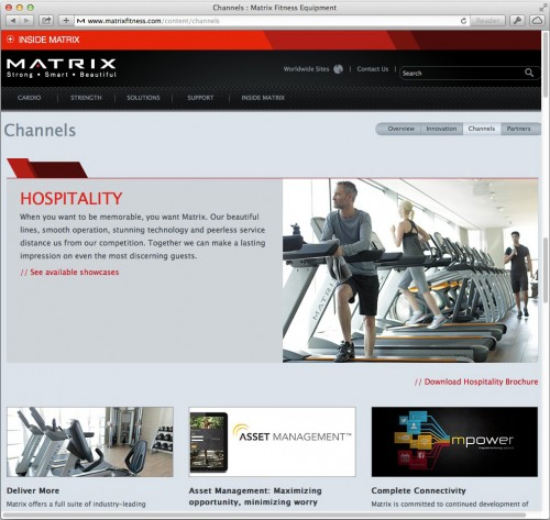 Matrix-Hospitality-Web