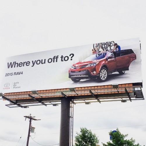 Rav4 Billboard