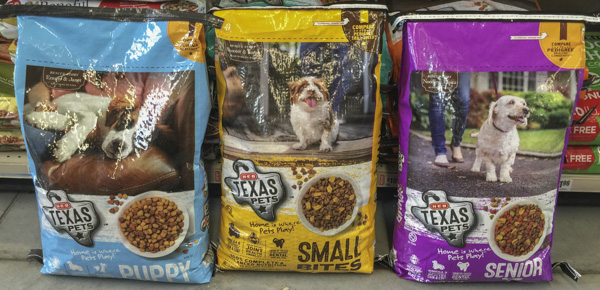 Heb Texas Pets Dog Food